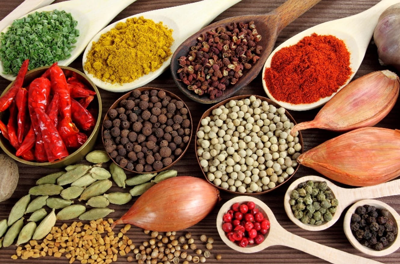 12 Most commonly used spices